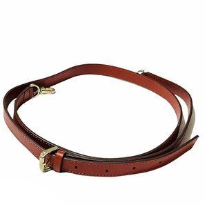 MANU Atelier new leather shoulder bag purse strap
